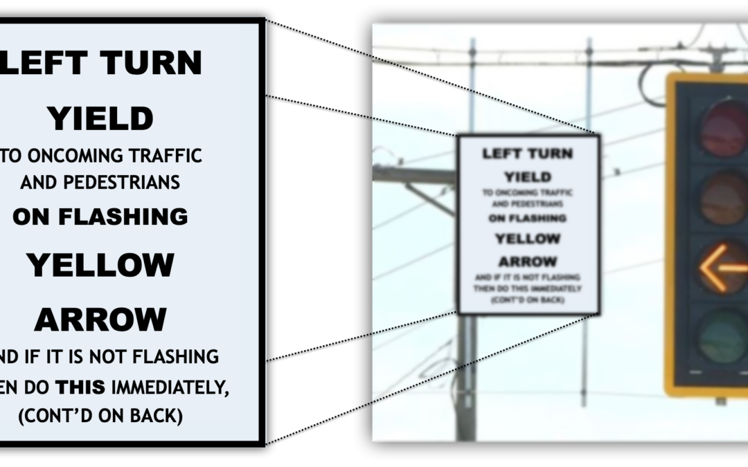 Left Turn YIELD on Flashing Yellow