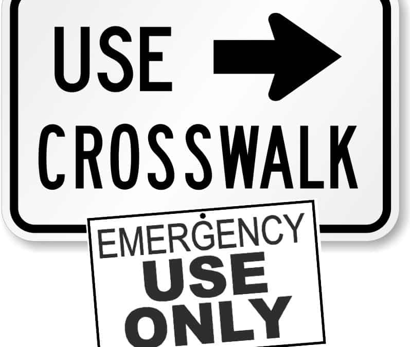 Pedestrian Crosswalks – Proceed with Caution!