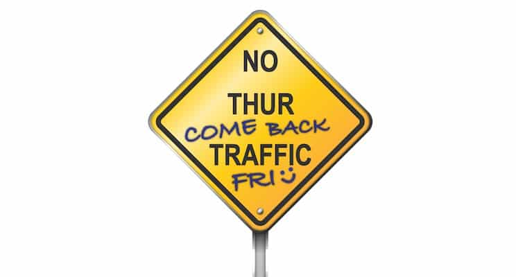 Thursday is: Consider a Roundabout Day!